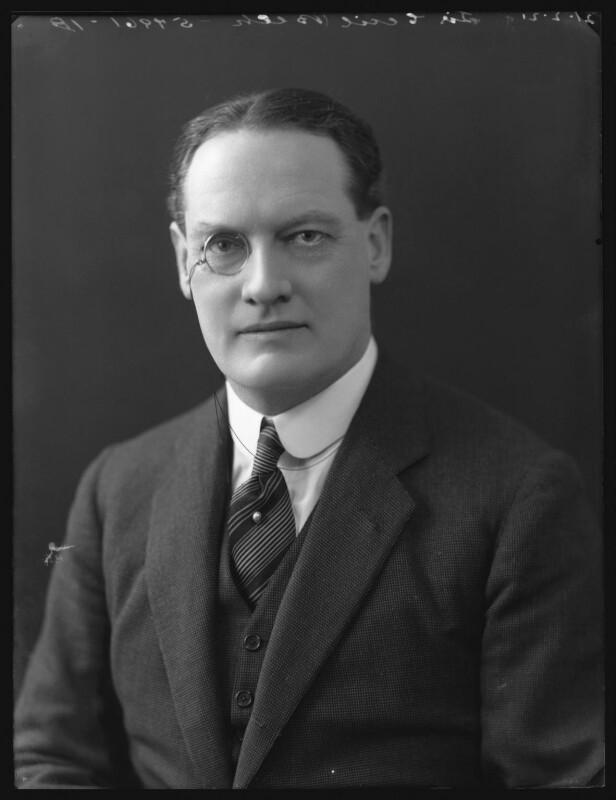 Sir (Arthur) Cecil Beck, by Bassano Ltd, 21 February 1921 - NPG x36673 - © National Portrait Gallery, London