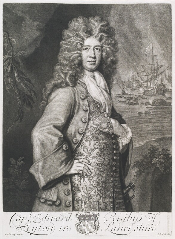 Edward Rigby, by John Smith, after  Thomas Murray, 1702 - NPG D11705 - © National Portrait Gallery, London