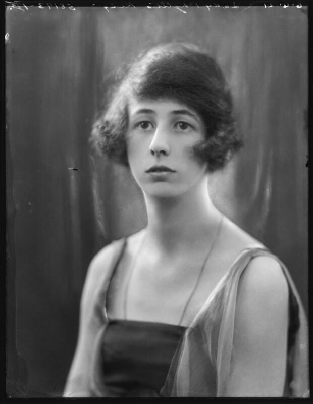 Lady Phyllis Edith Allen (née King), by Bassano Ltd, 6 April 1921 - NPG x120889 - © National Portrait Gallery, London