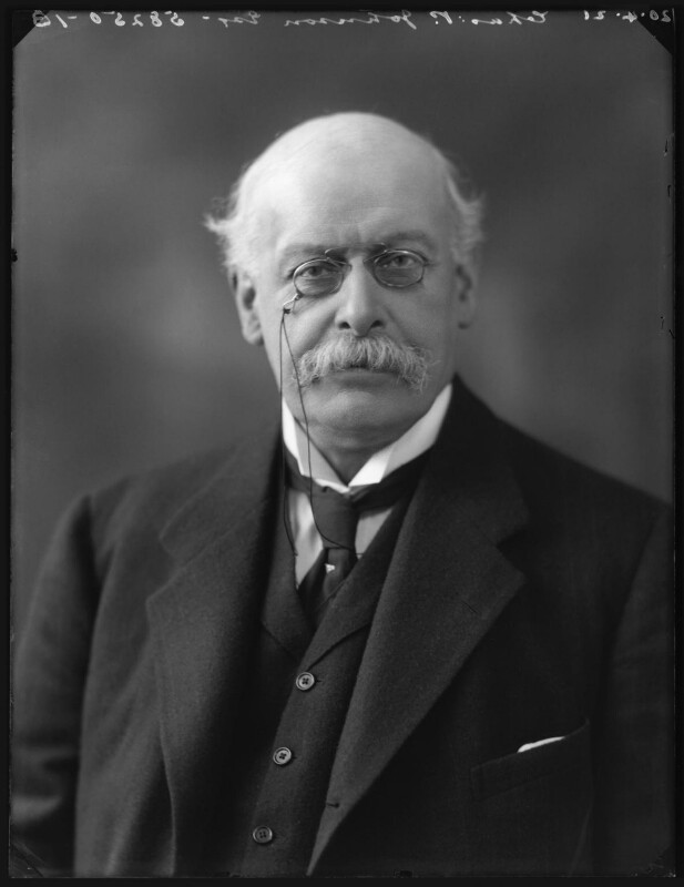Charles Plumptre Johnson, by Bassano Ltd, 20 April 1921 - NPG x120938 - © National Portrait Gallery, London