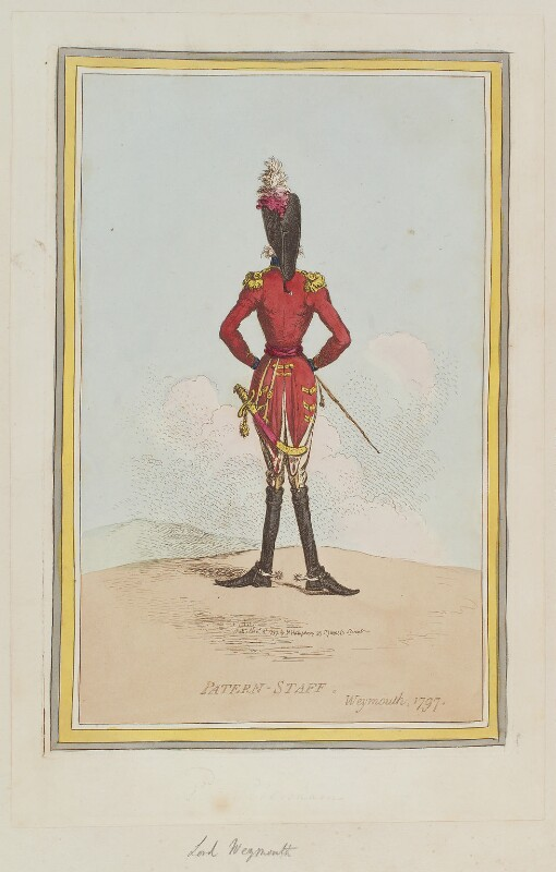'Patern-staff. Weymouth 1797', by James Gillray, published by  Hannah Humphrey, published 3 November 1797 - NPG D12622 - © National Portrait Gallery, London