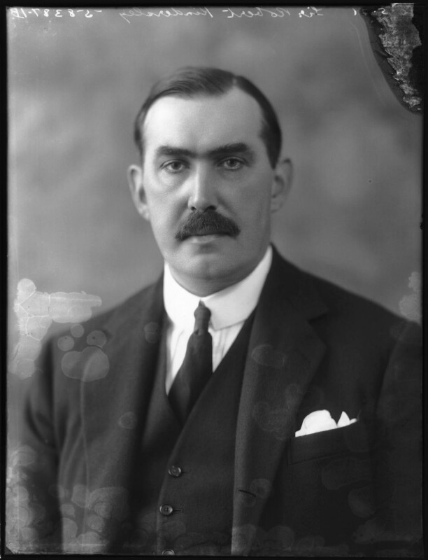 Robert Molesworth Kindersley, 1st Baron Kindersley, by Bassano Ltd, 20 May 1921 - NPG x68870 - © National Portrait Gallery, London