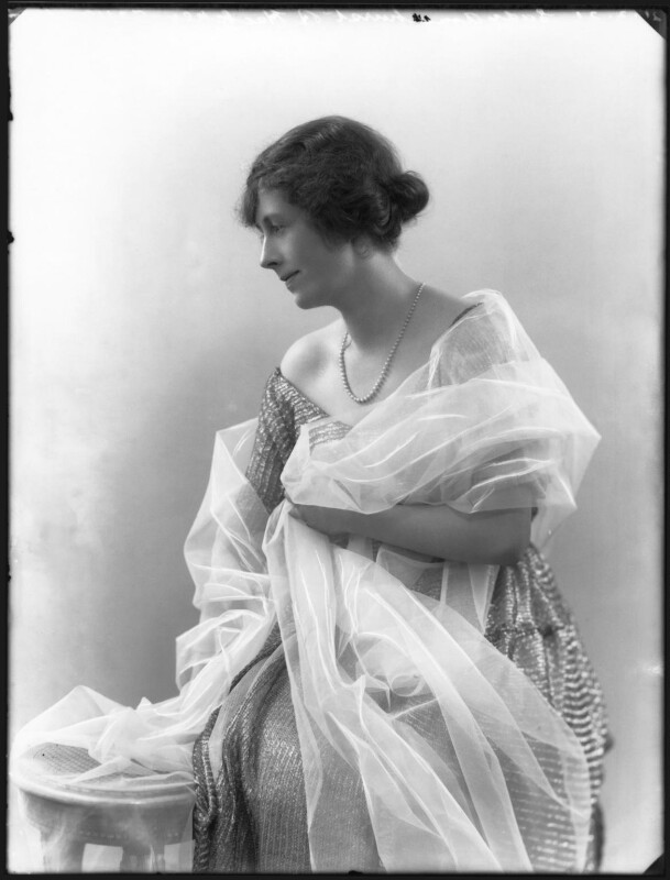 Gladys Cecil (née Baggallay), Lady Amherst of Hackney, by Bassano Ltd, 21 March 1921 - NPG x36700 - © National Portrait Gallery, London