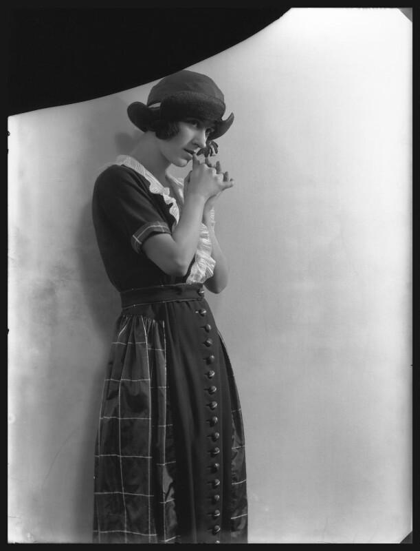 Beatrice Gladys Lillie (Lady Peel), by Bassano Ltd, 22 April 1921 - NPG x31150 - © National Portrait Gallery, London