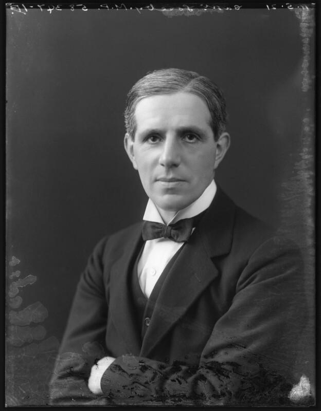 Charles Edgar Loseby, by Bassano Ltd, 11 May 1921 - NPG x120974 - © National Portrait Gallery, London