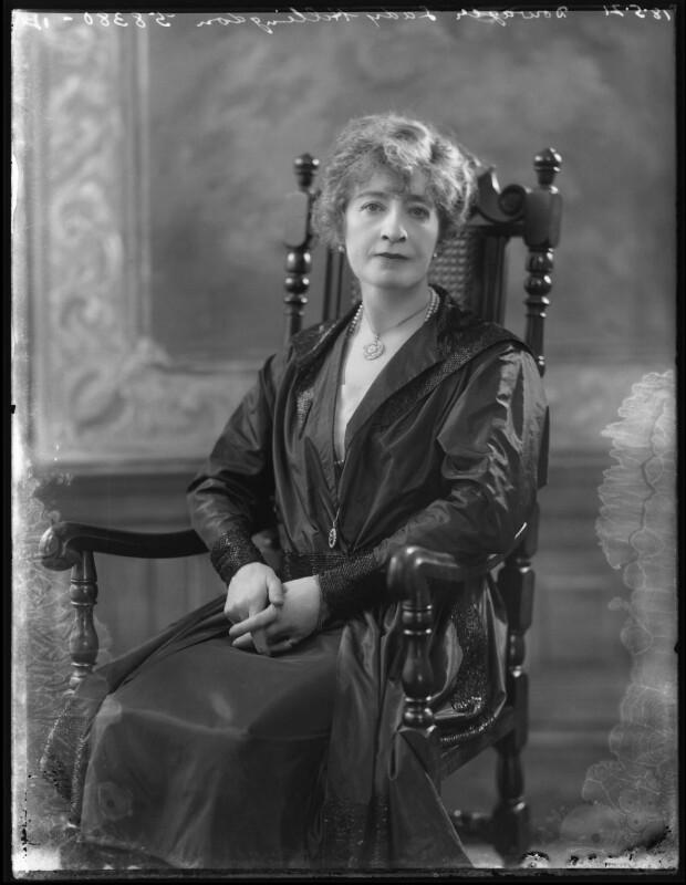 Alice Marion (née Harbord), Lady Hillingdon, by Bassano Ltd, 18 May 1921 - NPG x120985 - © National Portrait Gallery, London