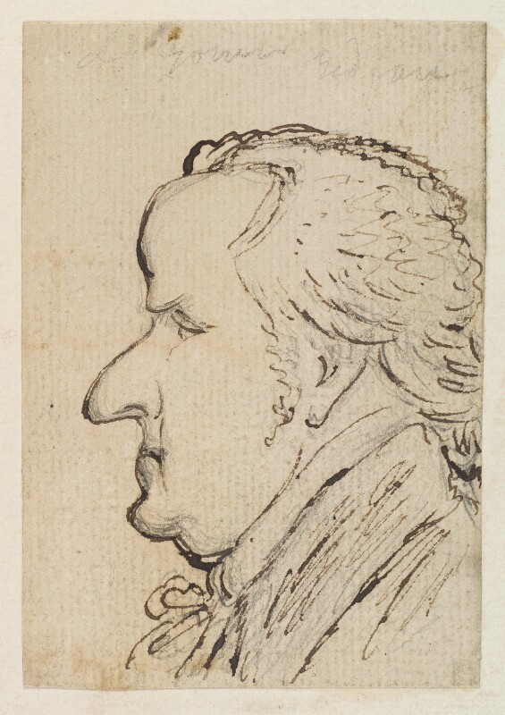George Granville Leveson-Gower, 1st Duke of Sutherland, by James Gillray, circa 1802 - NPG D12753 - © National Portrait Gallery, London