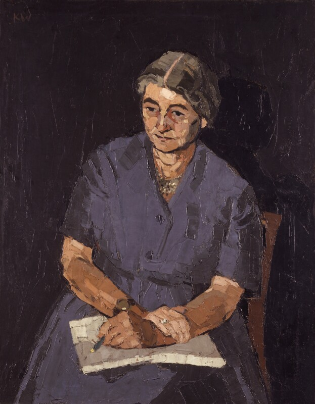 Dame Eileen Louise Younghusband, by Kyffin Williams, circa 1965 - NPG 6621 - © National Portrait Gallery, London
