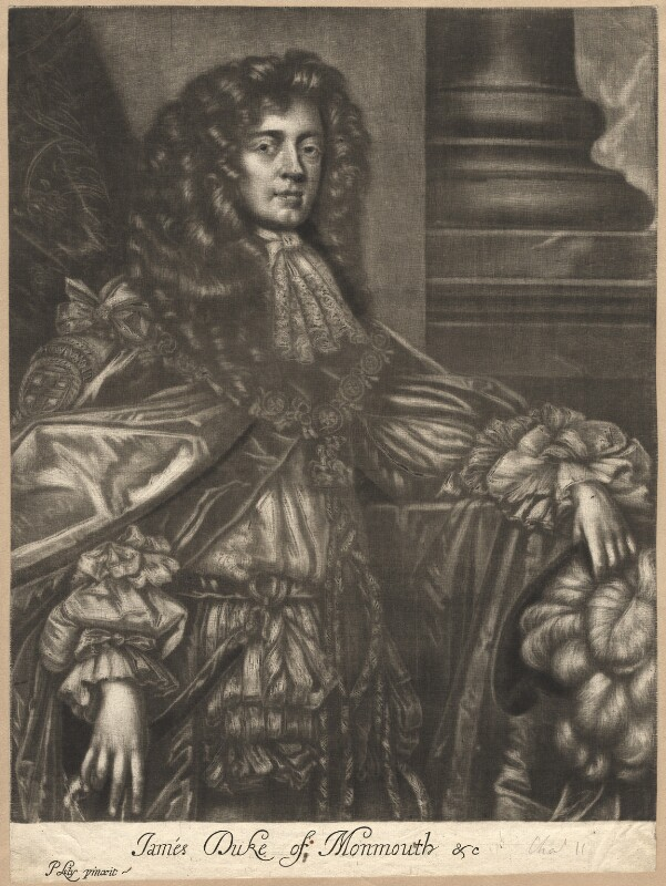 James Scott, Duke of Monmouth and Buccleuch, after Sir Peter Lely, circa 1680 - NPG D11990 - © National Portrait Gallery, London