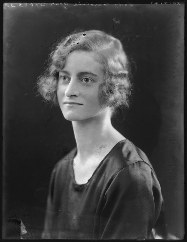 Lady Caroline Amy Cora Agar, by Bassano Ltd, 20 July 1921 - NPG x121109 - © National Portrait Gallery, London