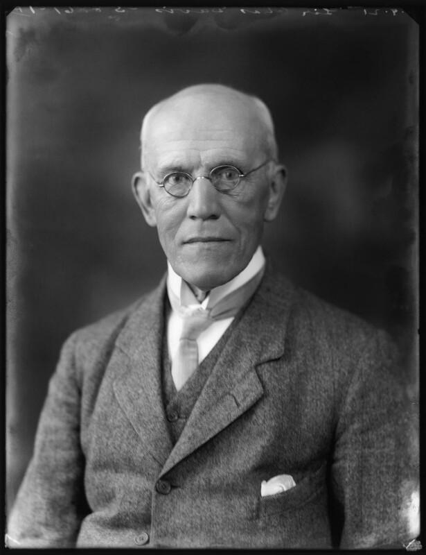 Sir Charles Henry Davis, by Bassano Ltd, 8 September 1921 - NPG x121155 - © National Portrait Gallery, London