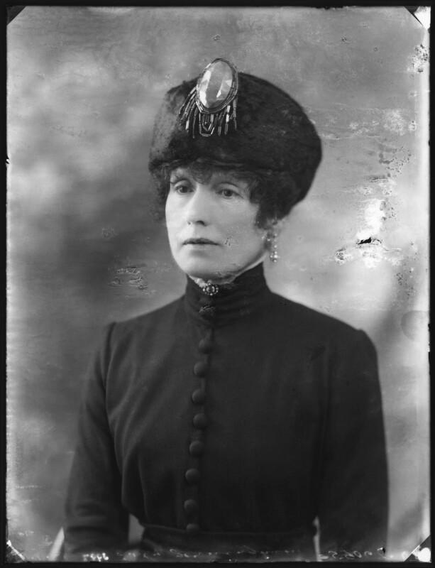 Coralie (née Hallowel-Carew), Lady Jerningham, by Bassano Ltd, 16 November 1921 - NPG x121215 - © National Portrait Gallery, London