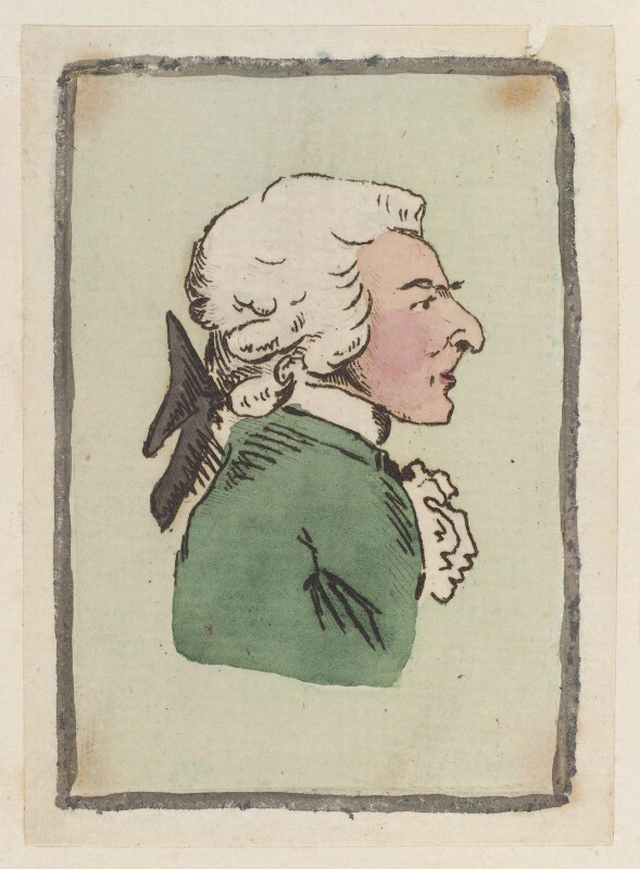 John Philip Kemble, possibly by James Gillray, circa 1783 - NPG D12964 - © National Portrait Gallery, London