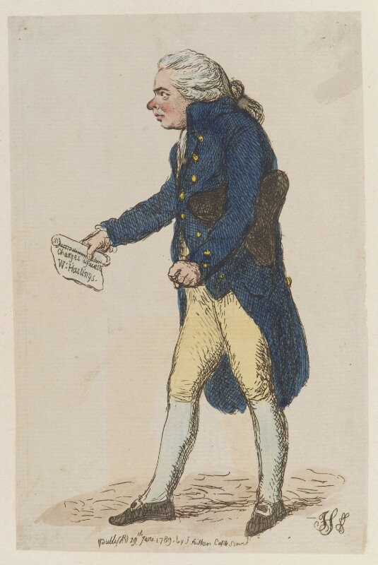Richard Brinsley Sheridan, by James Gillray, published by  James Aitken, published 29 June 1789 - NPG D12974 - © National Portrait Gallery, London