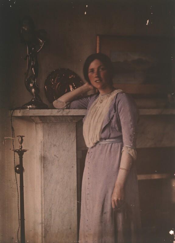 Emmeline McKendrick (née Edis), by (Mary) Olive Edis (Mrs Galsworthy), early 1900s - NPG x45540 - © National Portrait Gallery, London