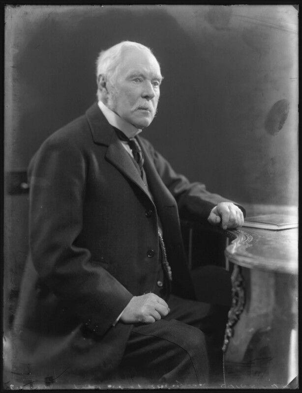 Montagu Arthur Bertie, 7th Earl of Abingdon, by Bassano Ltd, 6 December 1921 - NPG x121233 - © National Portrait Gallery, London