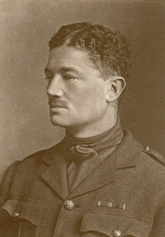 Hon. Julian Henry Francis Grenfell, by Maull & Fox, published 1917 - NPG x87075 - © National Portrait Gallery, London