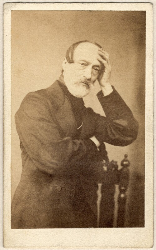 Giuseppe Mazzini, by Unknown photographer, 1860s - NPG x20600 - © National Portrait Gallery, London