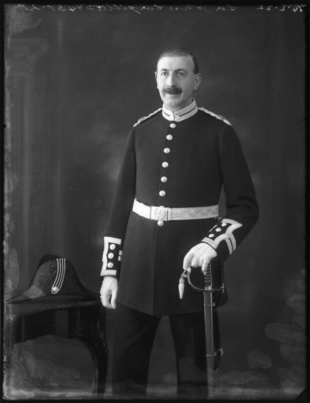 Sir John Traill Cargill, 1st Bt, by Bassano Ltd, 14 February 1922 - NPG x121321 - © National Portrait Gallery, London