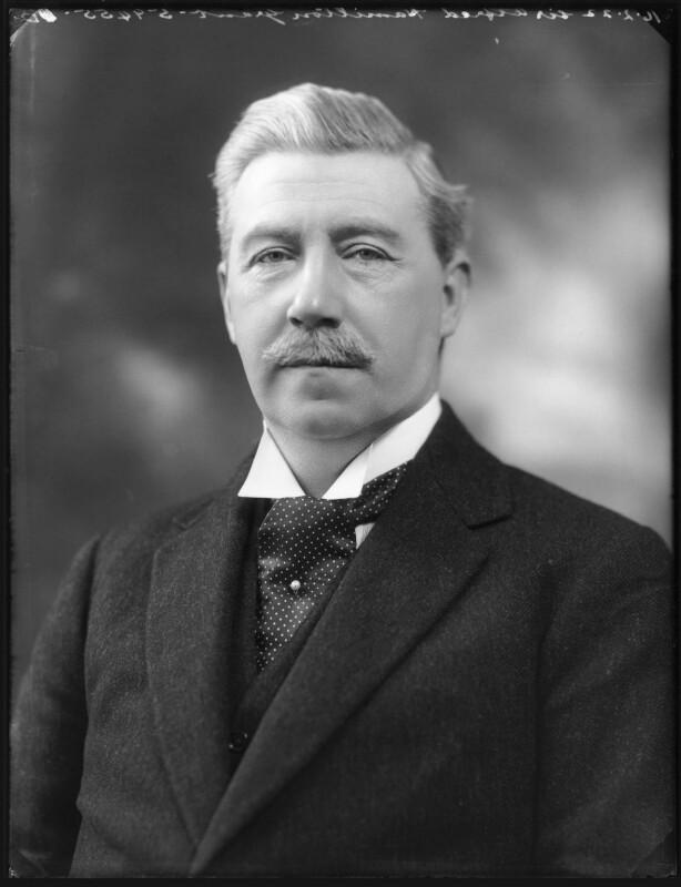 Sir (Alfred) Hamilton Grant, 12th Bt, by Bassano Ltd, 16 February 1922 - NPG x121338 - © National Portrait Gallery, London
