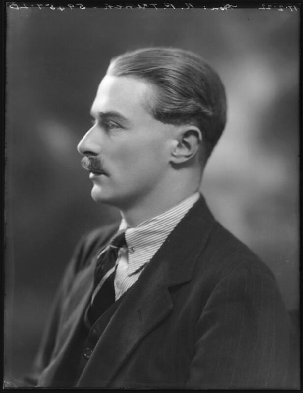 Robert Power Trench, 4th Baron Ashtown, by Bassano Ltd, 17 February 1922 - NPG x121341 - © National Portrait Gallery, London