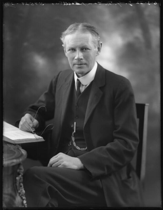 John Gordon Drummond Campbell, by Bassano Ltd, 6 March 1922 - NPG x121382 - © National Portrait Gallery, London