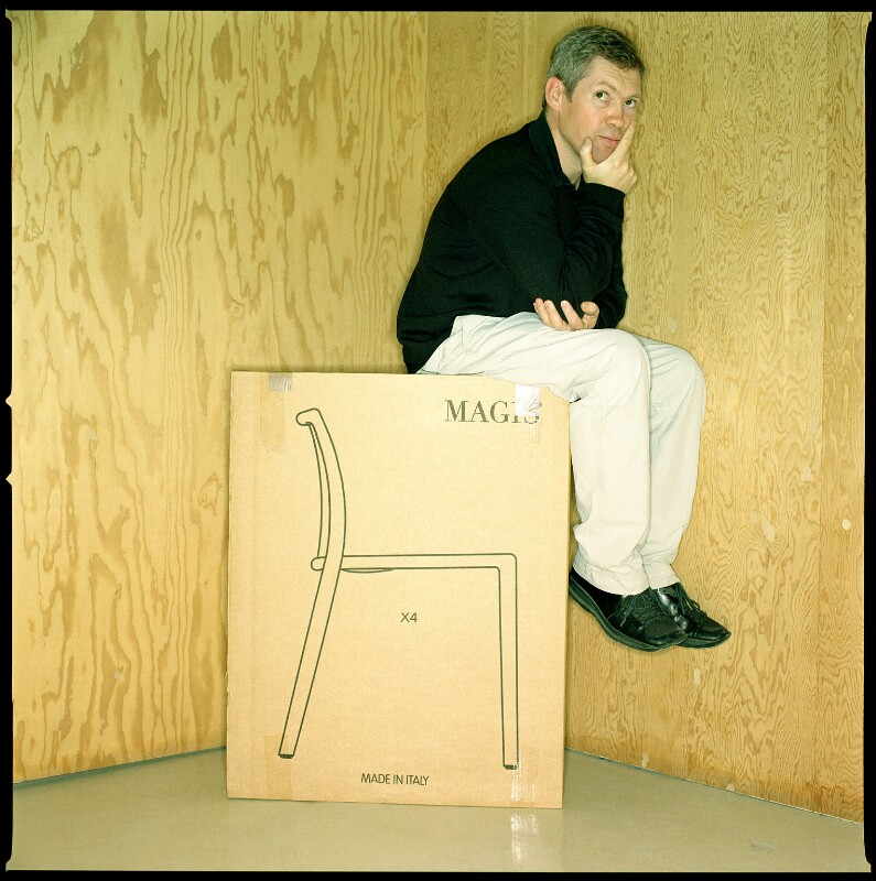 Jasper Morrison, by Neil Wilder, 13 October 2000 - NPG x125495 - © Neil Wilder