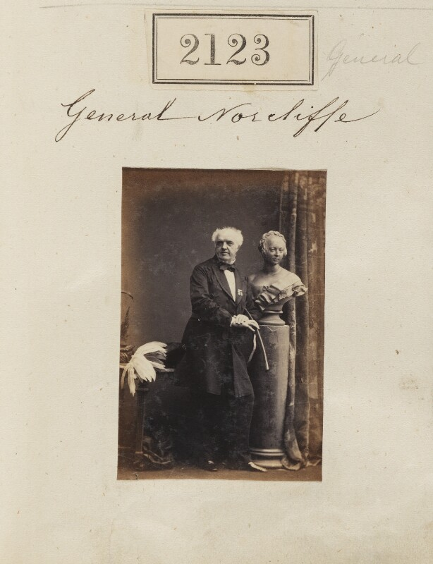 Norcliffe Norcliffe, by Camille Silvy, 16 February 1861 - NPG Ax51513 - © National Portrait Gallery, London