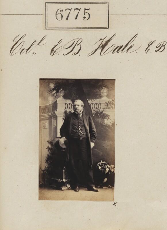 Edward Blagden Hale, by Camille Silvy, 16 January 1862 - NPG Ax56701 - © National Portrait Gallery, London