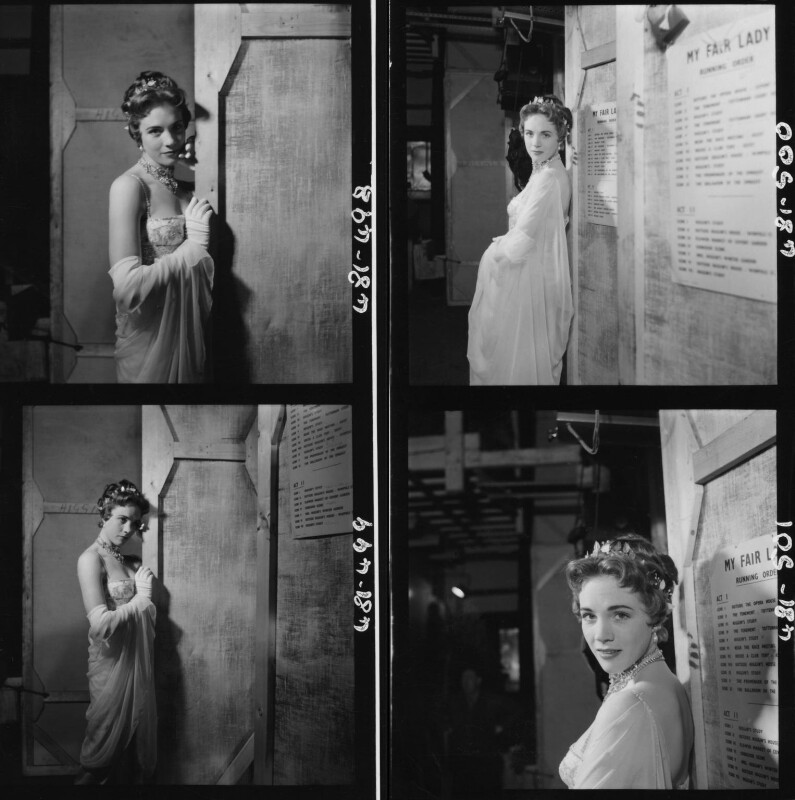 Julie Andrews, by Cecil Beaton, 1958 - NPG x40608 - © Cecil Beaton Studio Archive, Sotheby's London