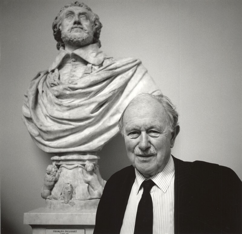 Miles Francis Stapleton Fitzalan-Howard, 17th Duke of Norfolk, by Norman McBeath, April 1993 - NPG x87854 - © Norman McBeath / National Portrait Gallery, London