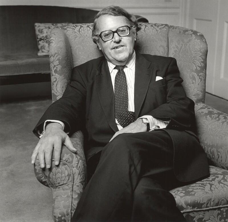 Asa Briggs, Baron Briggs, by Norman McBeath, June 1992 - NPG x87850 - © Norman McBeath / National Portrait Gallery, London
