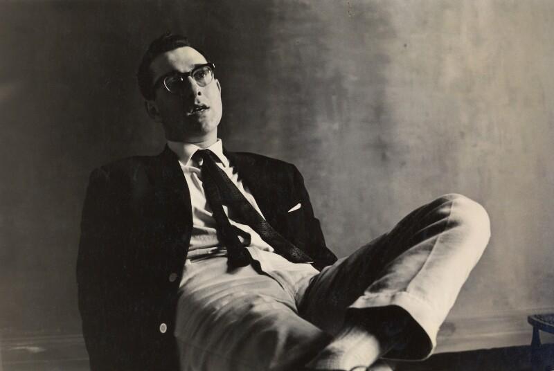 Harold Pinter, by Roger Mayne, 1960 - NPG x4057 - © Roger Mayne / National Portrait Gallery, London