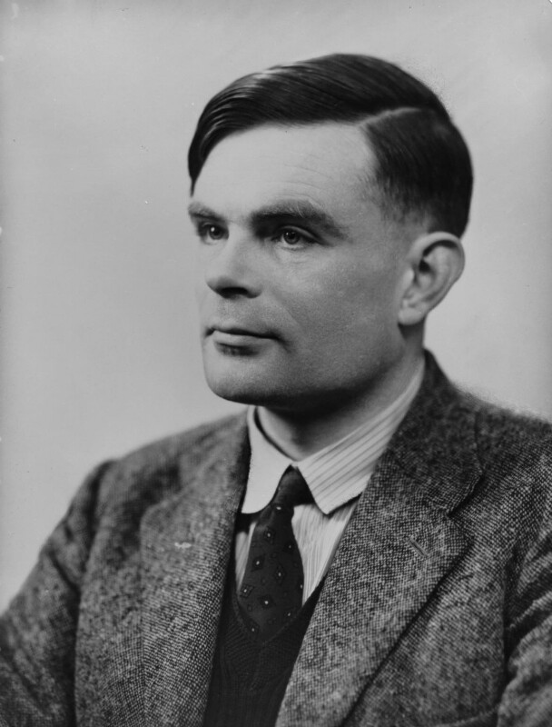 Alan Turing, by Elliott & Fry, 29 March 1951 - NPG x82217 - © National Portrait Gallery, London