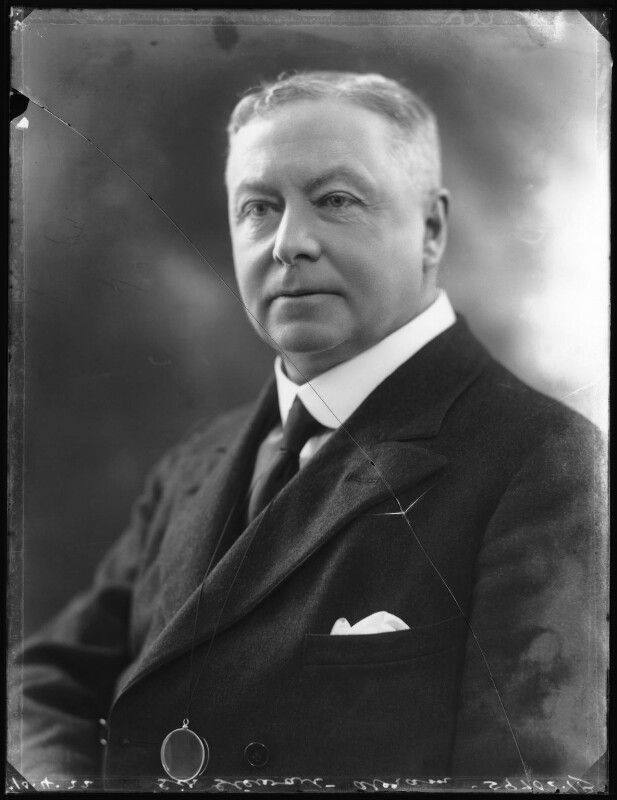 Sir George Stewart Abram, by Bassano Ltd, 10 April 1922 - NPG x121456 - © National Portrait Gallery, London