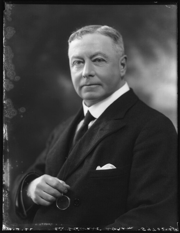 Sir George Stewart Abram, by Bassano Ltd, 10 April 1922 - NPG x121457 - © National Portrait Gallery, London