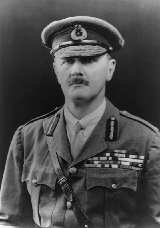Edmund Henry Hynman Allenby, 1st Viscount Allenby, by Bassano Ltd, 13 October 1921 - NPG x18136 - © National Portrait Gallery, London