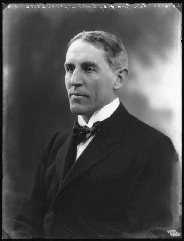 Sir Godfrey Pattison Collins, by Bassano Ltd, 28 April 1922 - NPG x121518 - © National Portrait Gallery, London