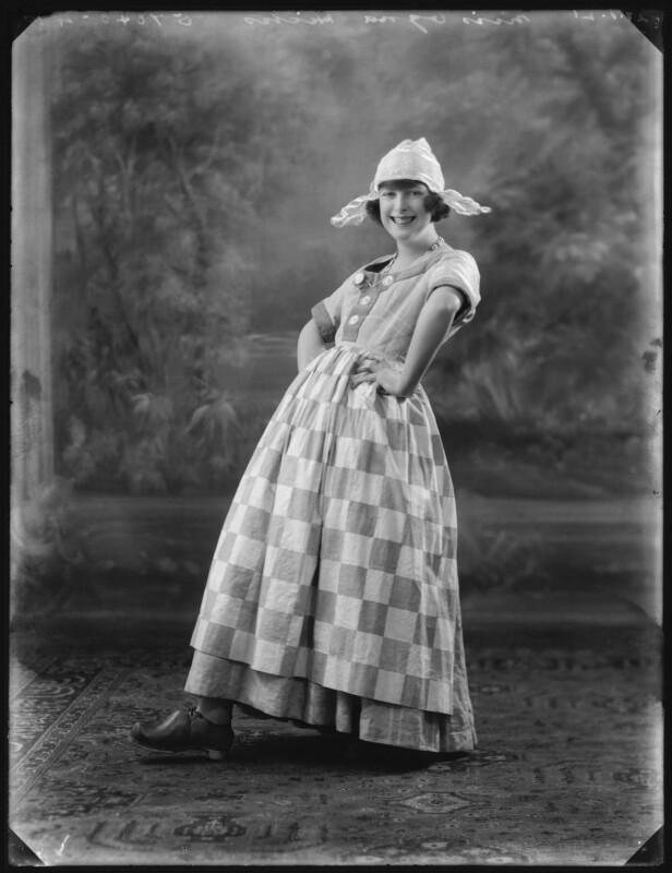 Ogna Hicks, by Bassano Ltd, 27 January 1921 - NPG x101194 - © National Portrait Gallery, London