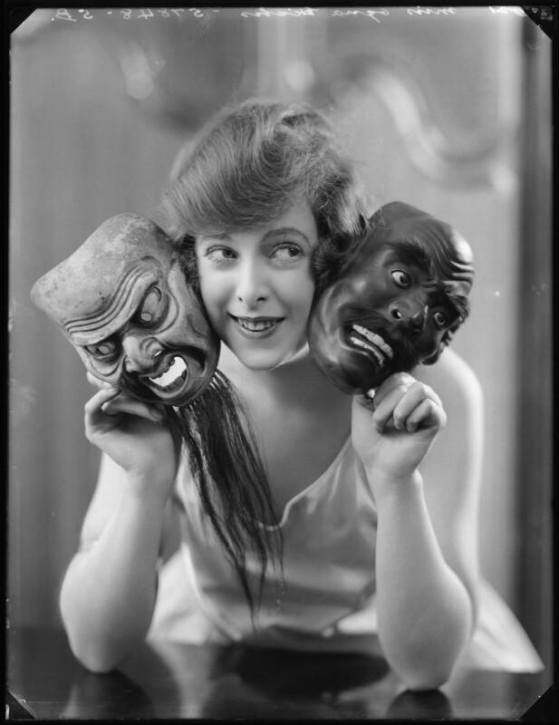 Ogna Hicks, by Bassano Ltd, 27 January 1921 - NPG x101195 - © National Portrait Gallery, London