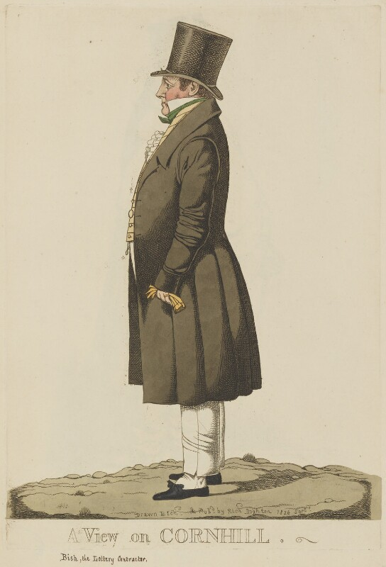 Thomas Bish ('A view on Cornhill'), by and published by Richard Dighton, published September 1826 - NPG D13319 - © National Portrait Gallery, London
