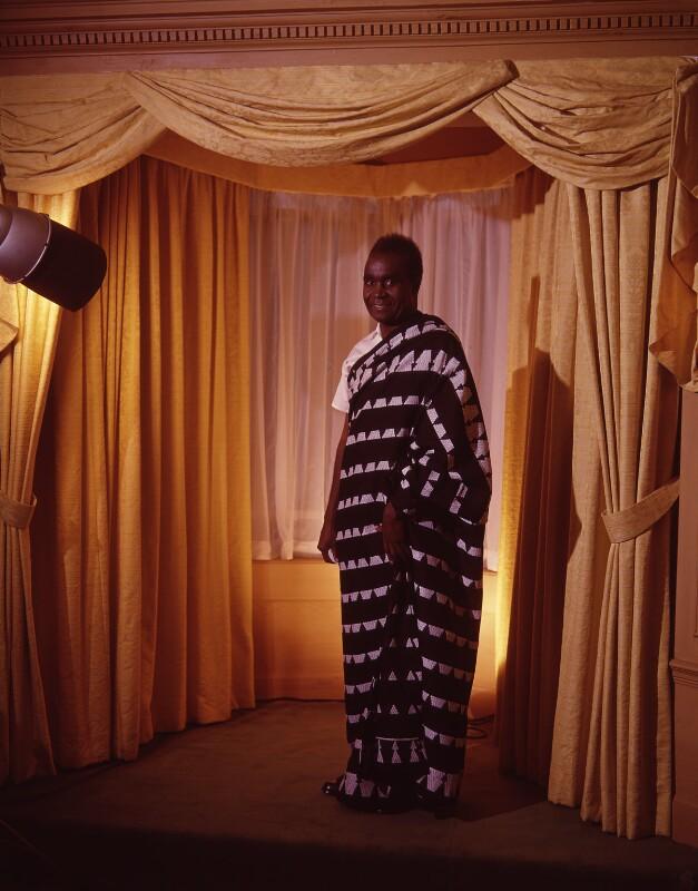 Kenneth David Kaunda, by Rex Coleman, for  Baron Studios, 13 November 1964 - NPG x125564 - © National Portrait Gallery, London