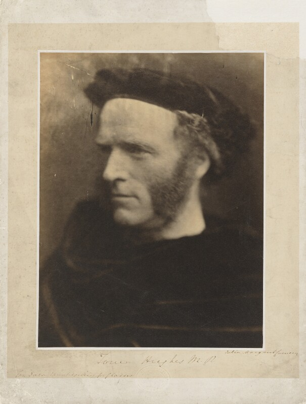 Thomas Hughes, by Julia Margaret Cameron, 1865 - NPG P986 - © National Portrait Gallery, London