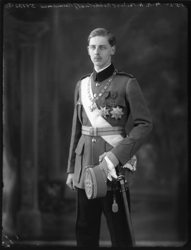 Prince Nicholas of Romania, by Bassano Ltd, 12 May 1922 - NPG x121560 - © National Portrait Gallery, London