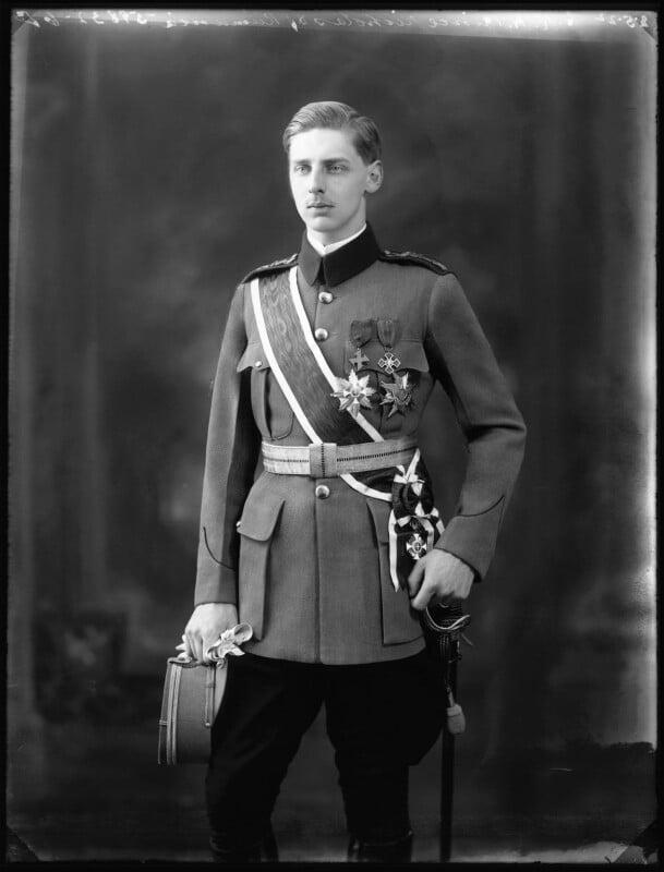 Prince Nicholas of Romania, by Bassano Ltd, 12 May 1922 - NPG x121561 - © National Portrait Gallery, London