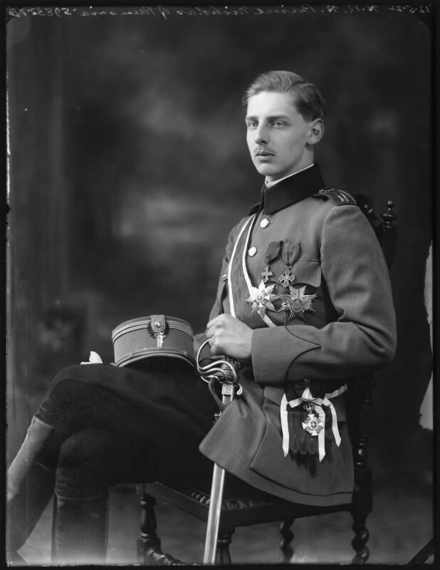 Prince Nicholas of Romania, by Bassano Ltd, 12 May 1922 - NPG x121562 - © National Portrait Gallery, London