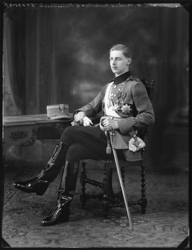 Prince Nicholas of Romania, by Bassano Ltd, 12 May 1922 - NPG x121563 - © National Portrait Gallery, London