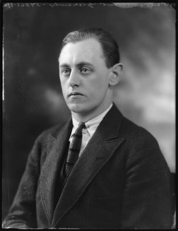 Beresford Cecil Bingham Annesley, 8th Earl Annesley, by Bassano Ltd, 18 May 1922 - NPG x121568 - © National Portrait Gallery, London
