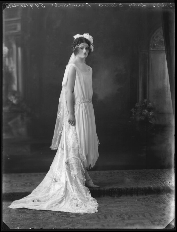 Lady (Mary) Diana Worthington (née Duncombe), by Bassano Ltd, 27 June 1922 - NPG x121616 - © National Portrait Gallery, London