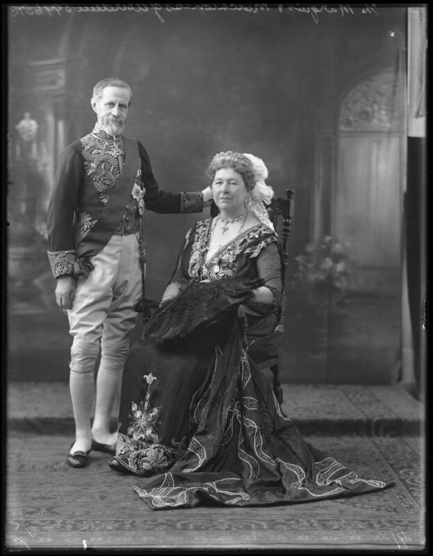 The Marquess and Marchioness of Aberdeen and Temair, by Bassano Ltd, 8 June 1922 - NPG x121636 - © National Portrait Gallery, London